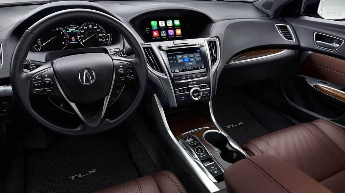 2019 Acura TLX interior features