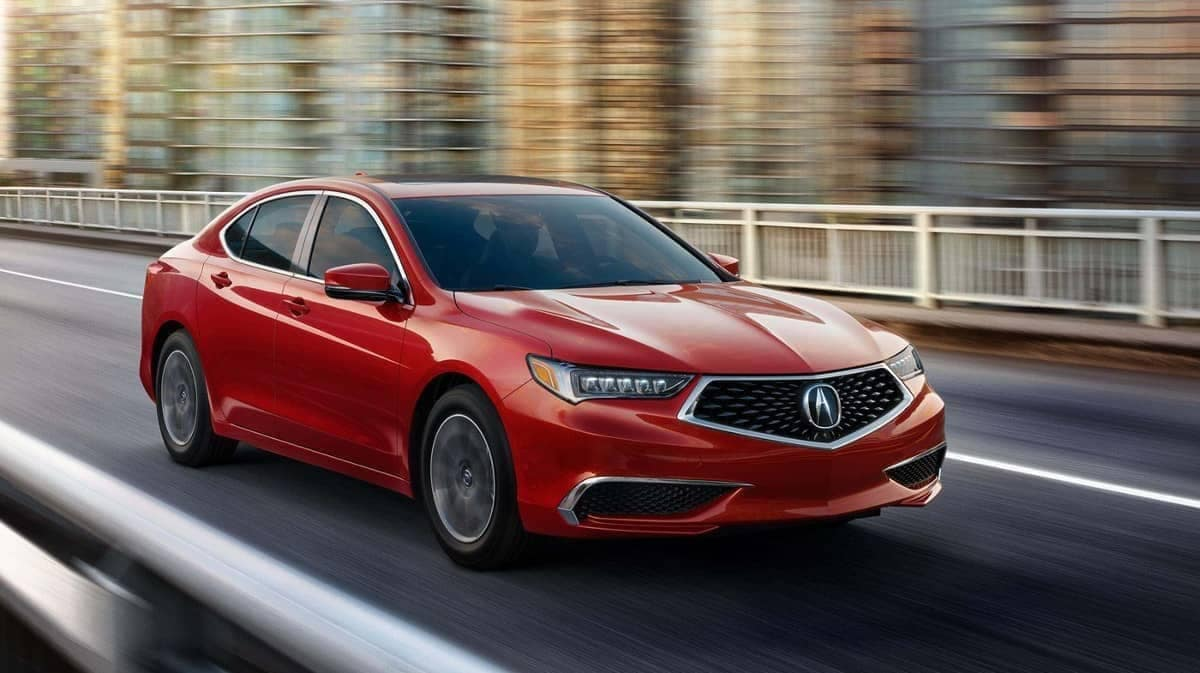 2019 Acura TLX Milano Red Exterior Model