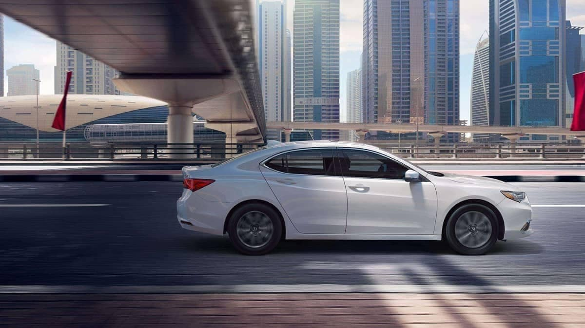 2019 Acura TLX side view exterior