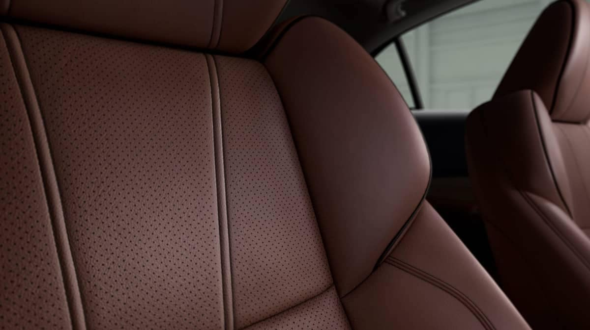 2019 Acura TLX leather seats