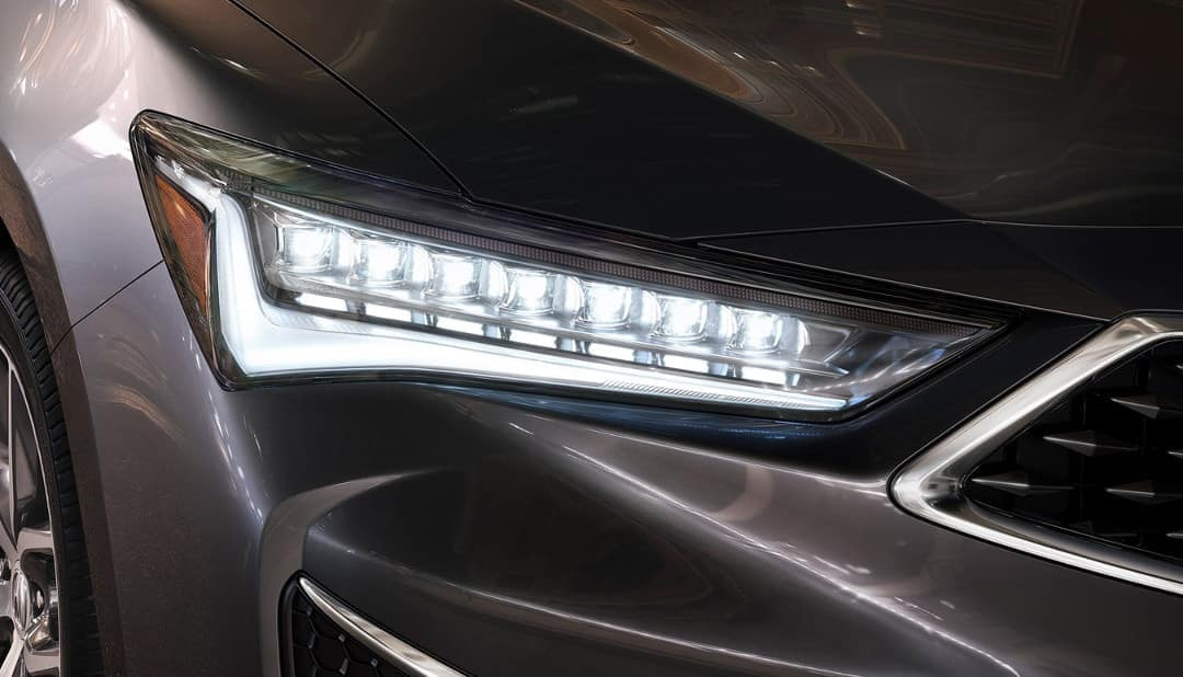 2019 Acura ILX LED headlights