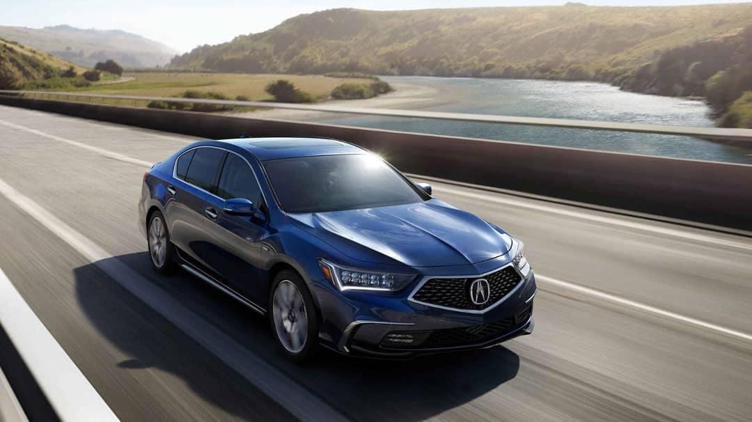 2019 Acura RLX on road