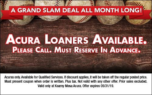 Acura Loaners