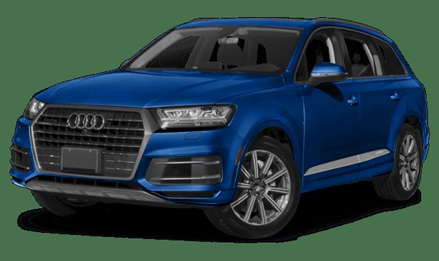 Blue Audi Q7