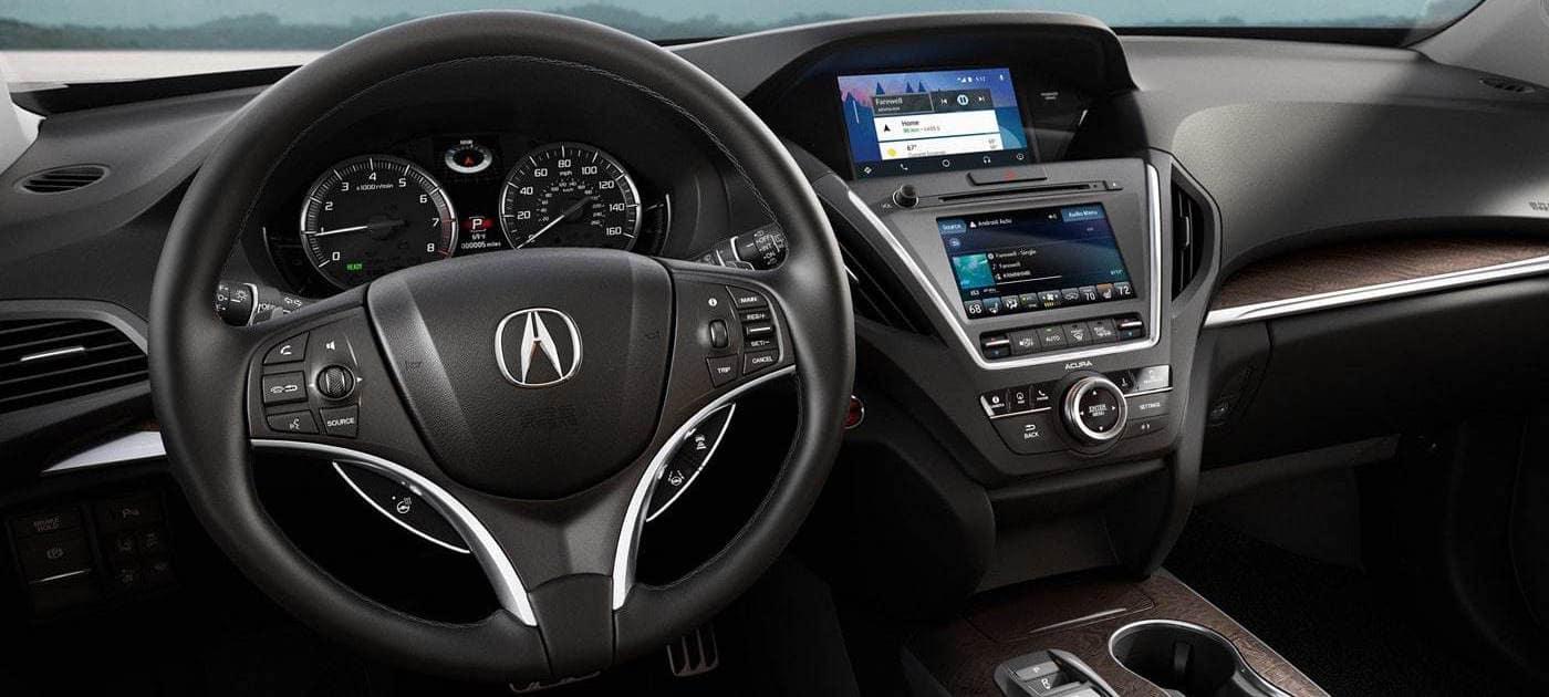 Acura MDX dashboard