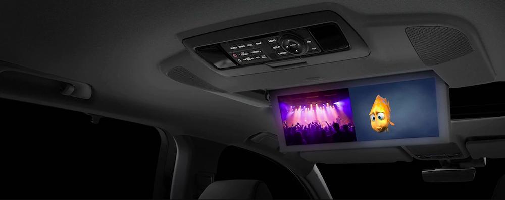 Acura MDX rear seat entertainment monitors