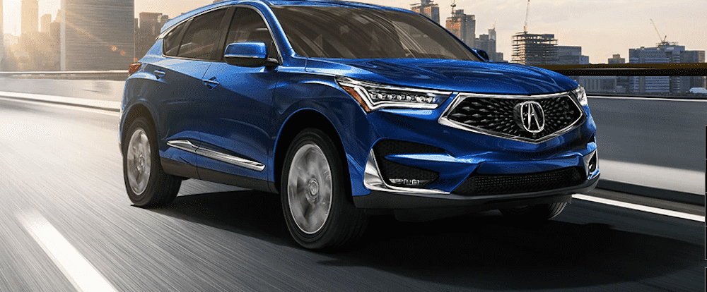 Metallic Blue Acura RDX