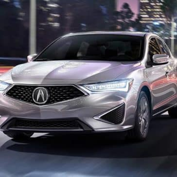 2020 Acura ILX Driving at Night