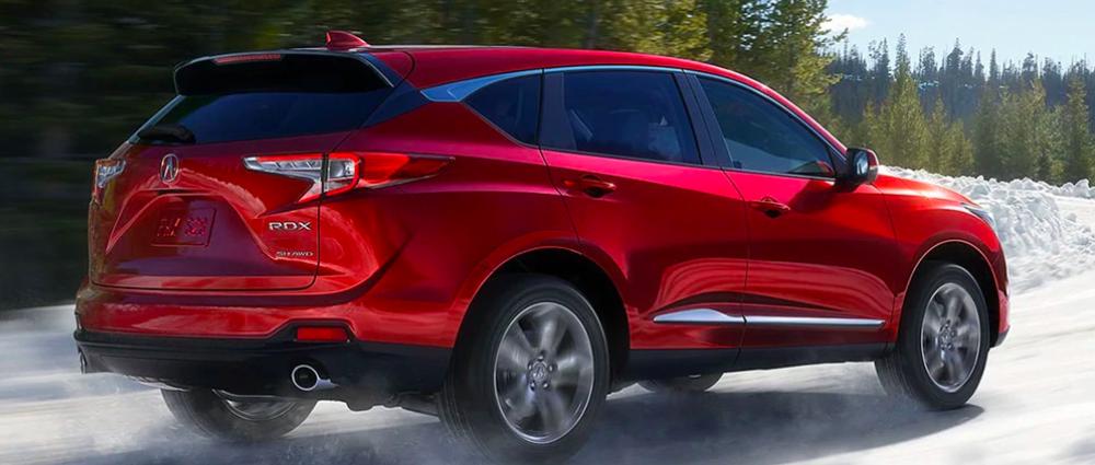 2021 Red Acura RDX