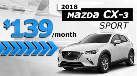 New 2018 Mazda CX-3 Sport