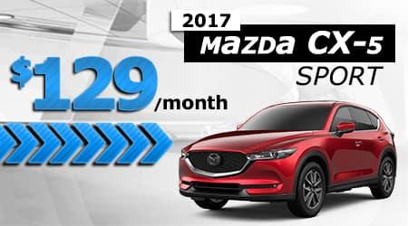 New 2017 Mazda CX-5 Sport