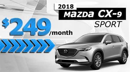 New 2018 Mazda CX-9