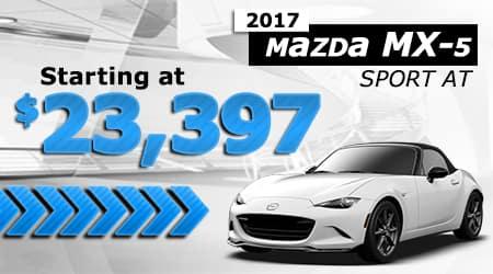 New 2017 Mazda MX-5 Miata Sport