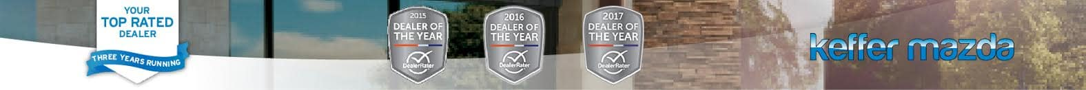 Top Rated Dealer Three Years Running