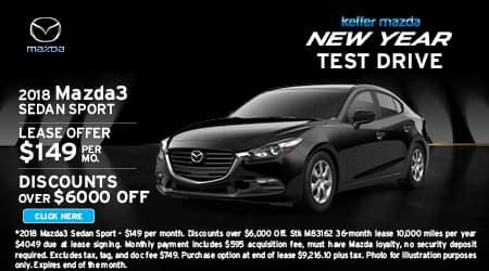 2018 Mazda3 Sedan Sport
