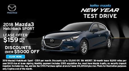 2018 Mazda3 Hatchback Sport