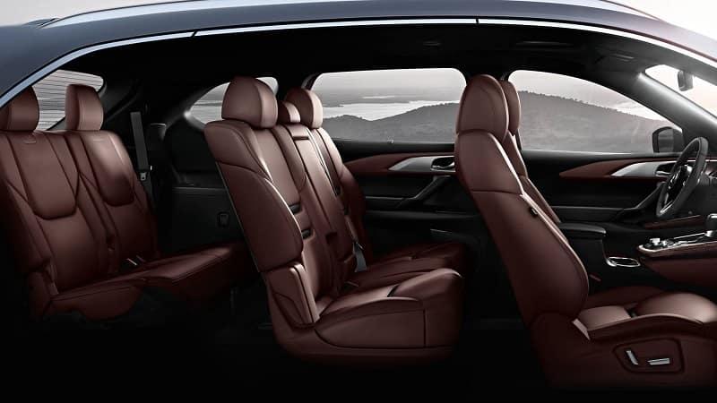 Huntersville NC - 2019 Mazda CX-9's Interior