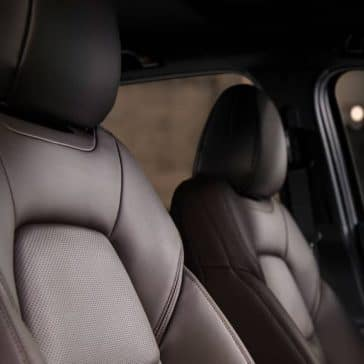 2019 Mazda CX-5 leather front seats
