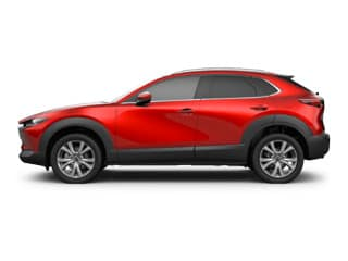 Red Mazda SUV