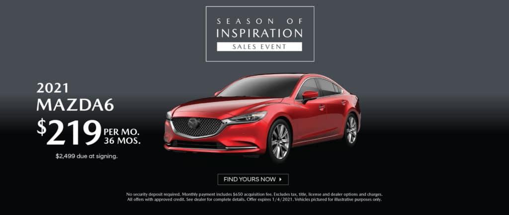 <b>2021 Mazda6</b>