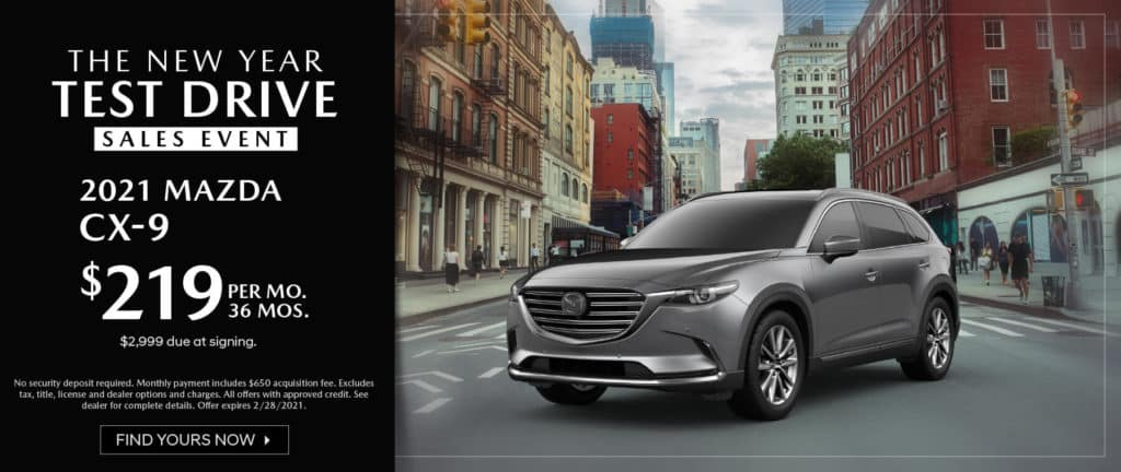 <b>2021 Mazda CX-9</b>