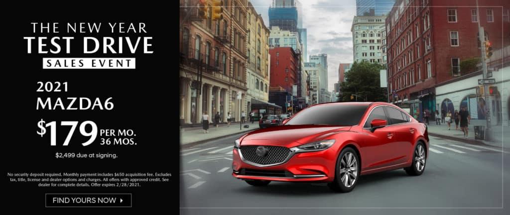 <b>2021 Mazda 6</b>