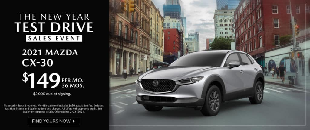 <b>2021 Mazda CX-30</b>