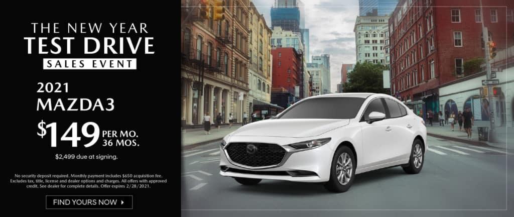 <b>2021 Mazda 3</b>
