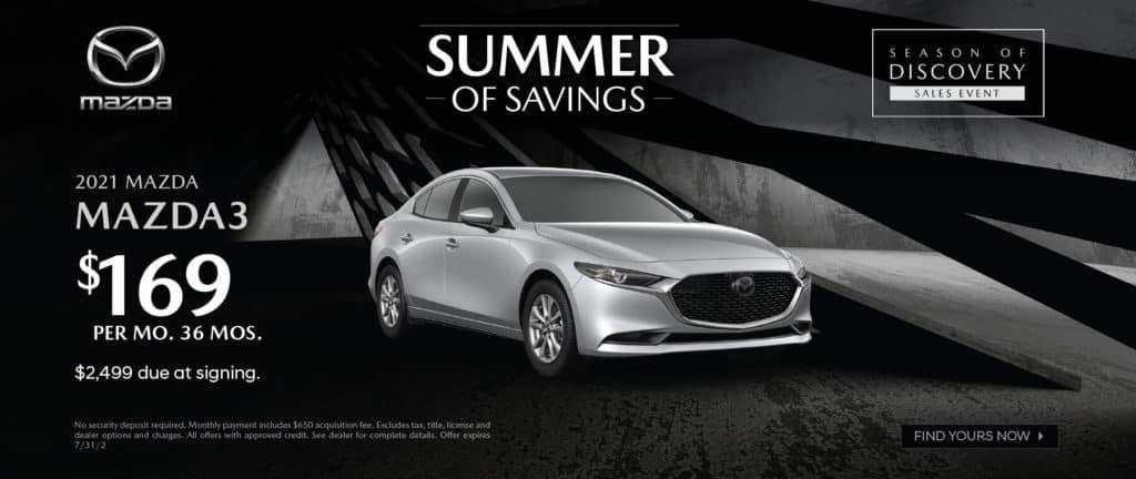 <b>2021 Mazda3</b>