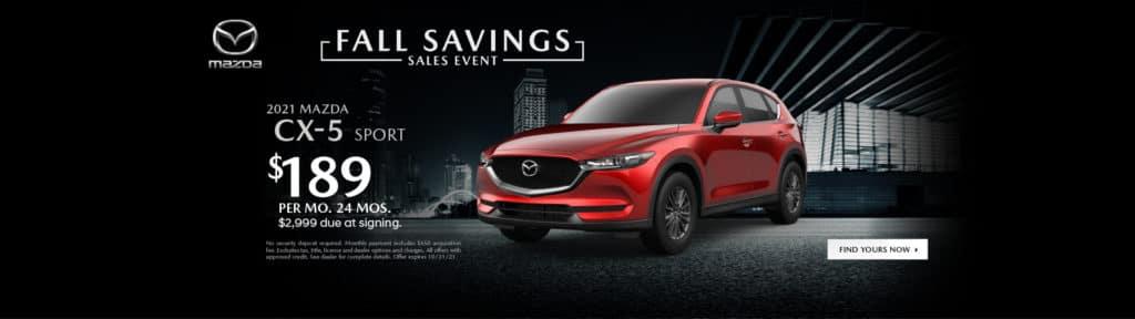 <b>2021 Mazda CX-5 SPORT</b>