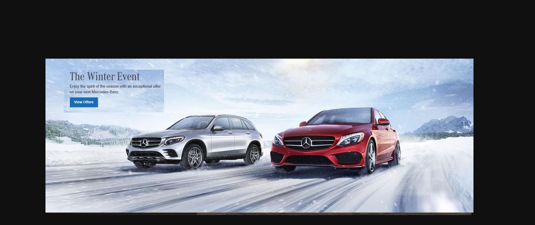 Mercedes Benz Winter Event Sale