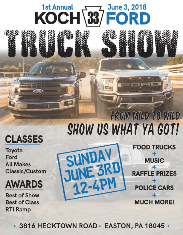 Koch Truck Show Koch Ford - Ramp ford car show