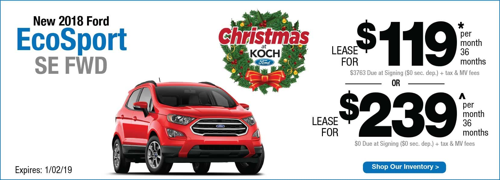 Koch 33 ford lease offers