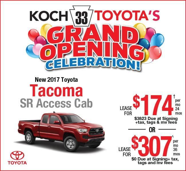 Tacoma Lease Deals Ct