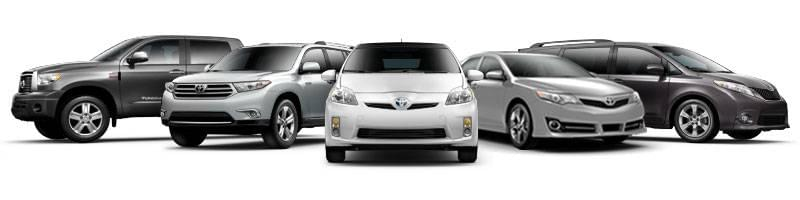 ToyotaCare Vehicle Options
