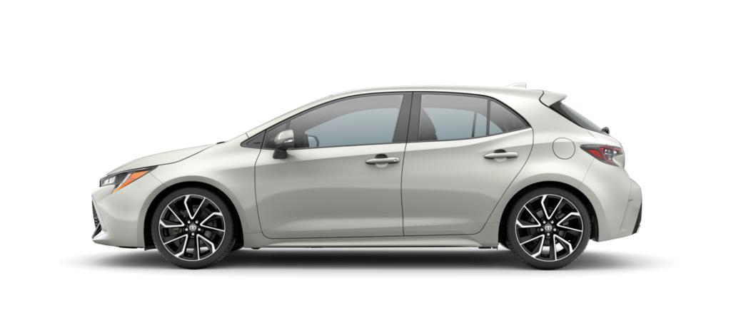 Standard<br>Toyota Corolla Hatchback