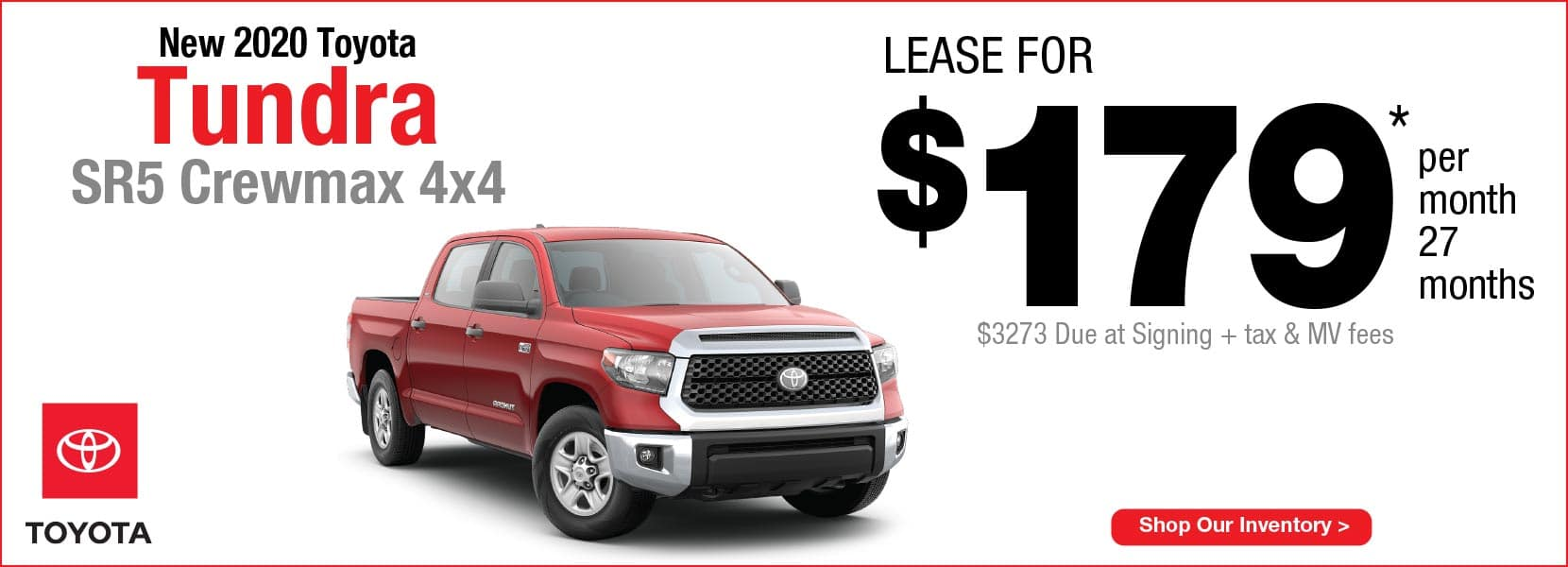 New 2020 Toyota Tundra  Koch 33 Toyota Lease offer Easton PA