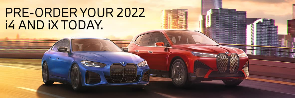 Pre-Order Your BMW i4 and BMW iX