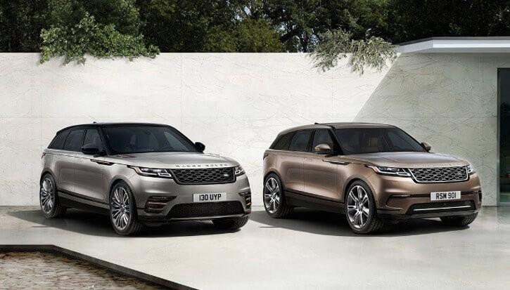 2018 Land Rover Range Rover Velar models