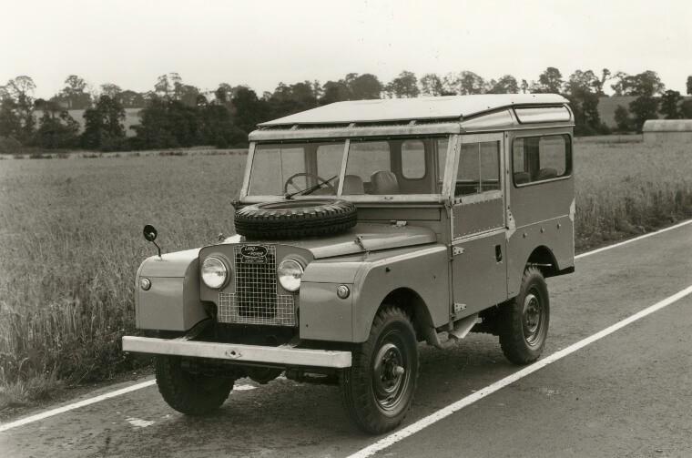 Land Rover 1954