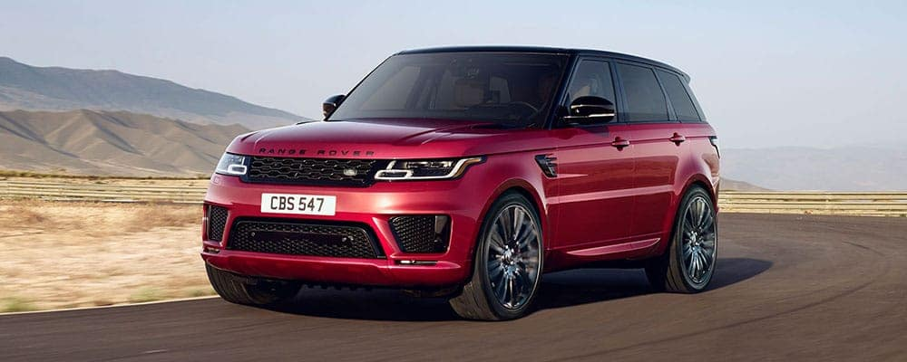 2019-Range-Rover-Sport-Red-Parked-on-Road