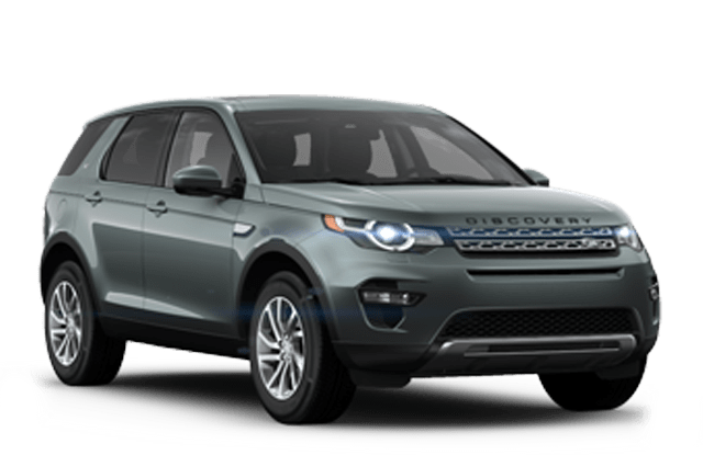 2019 Land Rover Discovery Sport Angled