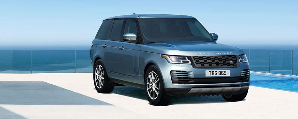 2019 Range Rover Parked Near Water