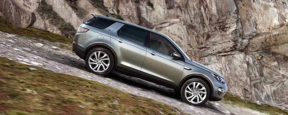 2019 discovery sport on hill