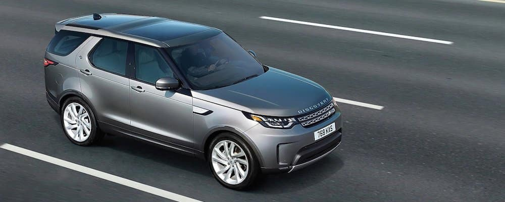 2019 Land Rover Discovery driving on road
