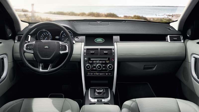 2019 Land Rover Discovery Sport Dash
