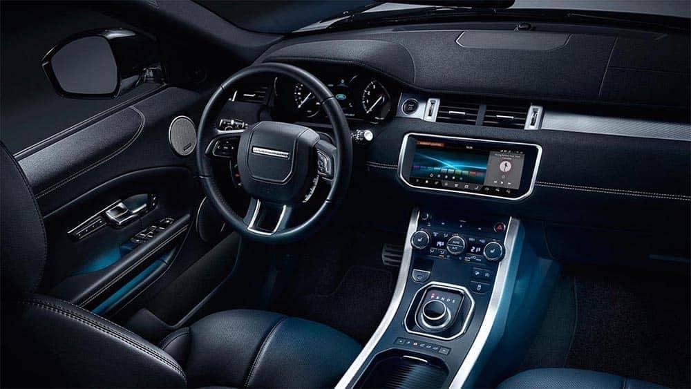 2019 Range Rover Evoque Dash