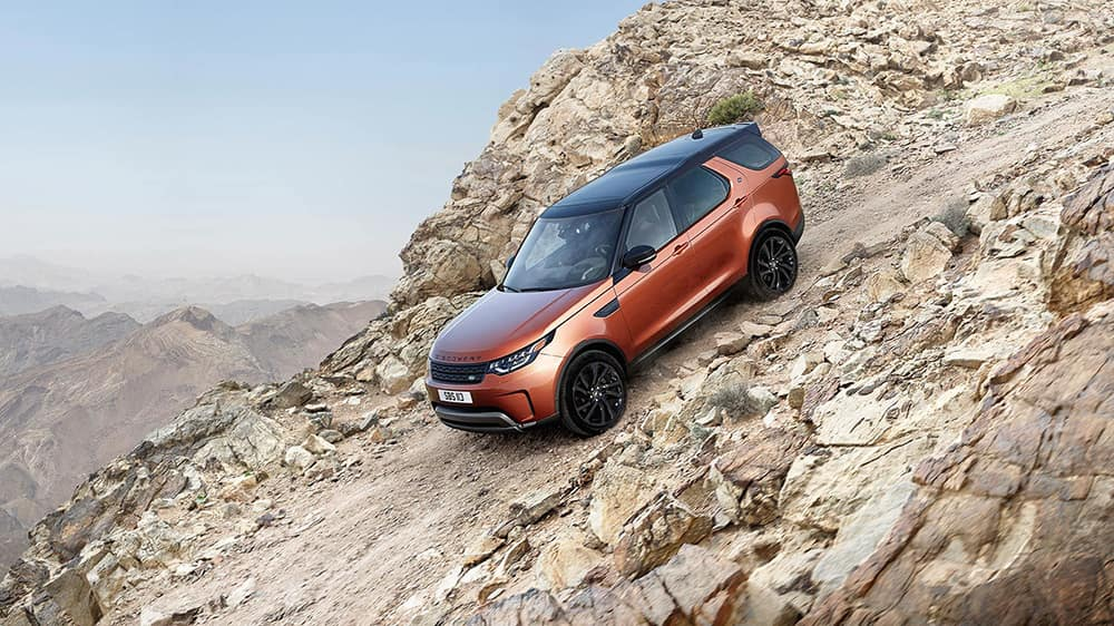 2019 Land Rover Discovery Going Downhill