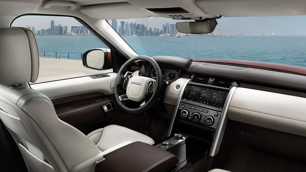 2019 Land Rover Discovery Dash