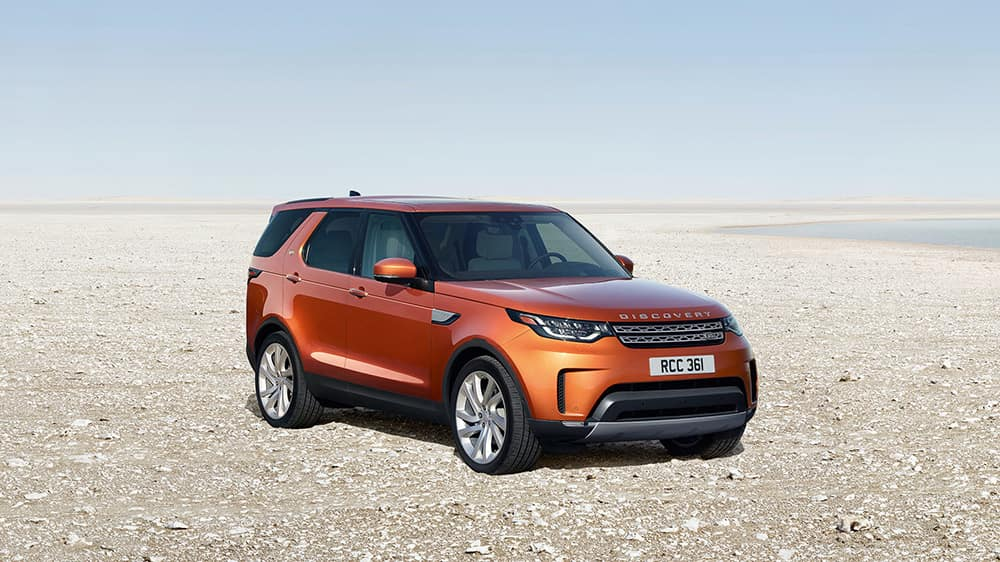 2019 Land Rover Discovery On Beach